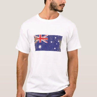 Rustic Australia Flag T-Shirt