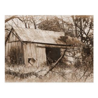 Rustic Barn Postcard