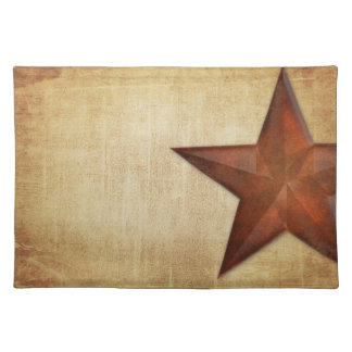Rustic Barn Star Placemat