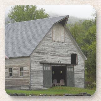 Rustic Barn- Vermont Beverage Coasters