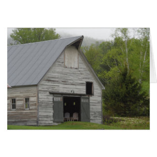 Rustic Barn- Vermont Note Card