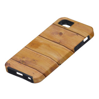 Rustic Barn Wall Made of Old Wooden Brown Planks iPhone 5 Case