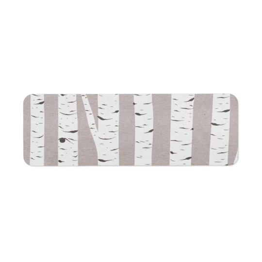 Rustic Birch Wood Trees & Branches Natural Modern