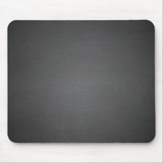 Rustic Black Chalkboard Printed Mouse Pads