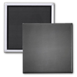 Rustic Black Chalkboard Printed Square Magnet