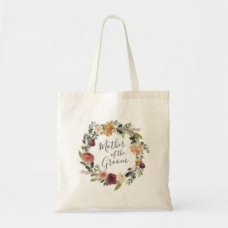 Rustic Bloom | Mother of the Groom Tote Bag