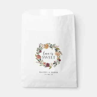 Rustic Bloom Wedding Favour Bags