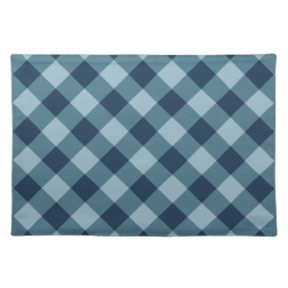 Rustic Blue Buffalo Plaid | Holiday Placemat
