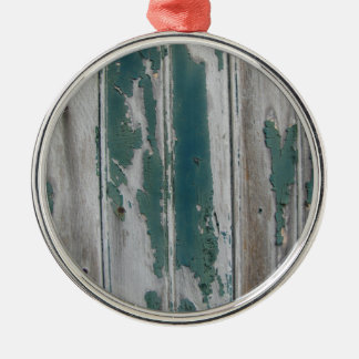 Rustic Blue Christmas Ornament