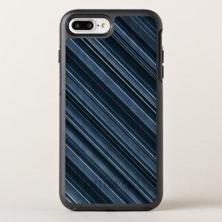 """Rustic Blue"" Stripes Pattern OtterBox Symmetry iPhone 7 Plus Case"