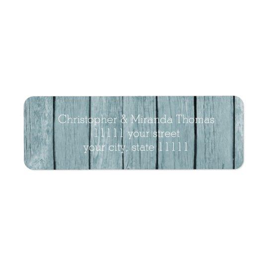 Rustic Blue Wood