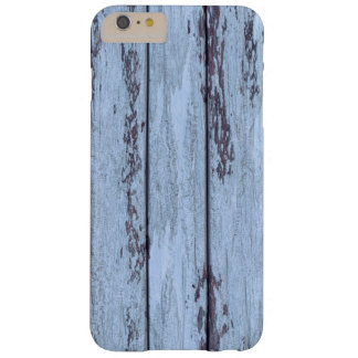 rustic blue wood textured iPhone 6/6s Plus case