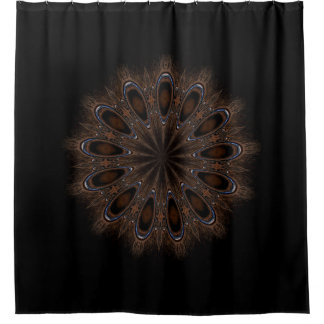 Rustic Boho Shower Curtain