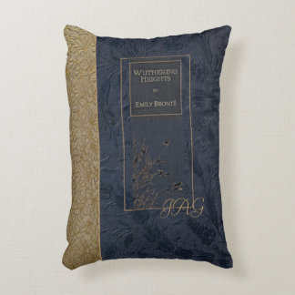 Rustic Book Cover Cushion Wuthering Heights