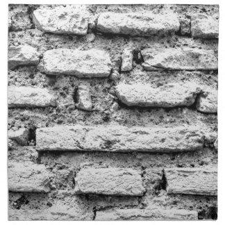 Rustic brickwall napkin