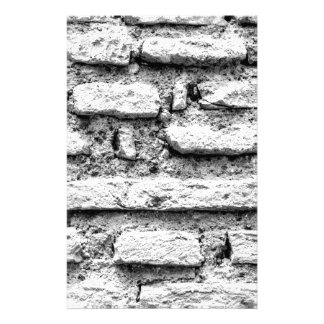 Rustic brickwall stationery
