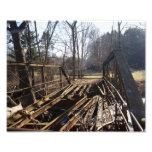 Rustic Bridge 10x8 Photographic Print