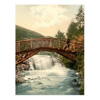 Rustic Bridge in Glenariff Co Antrim Ireland Post Cards