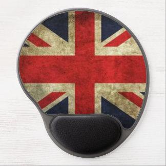 Rustic British Flag Mouse Gel Pad Gel Mouse Pad