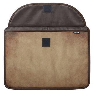 Rustic Brown Abstract Art MacBook Sleeve Sleeve For MacBooks