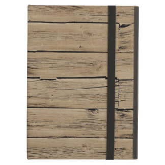 Rustic Brown Faux Wood iPad Air Cover