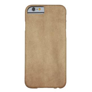 Rustic Brown iPhone Case