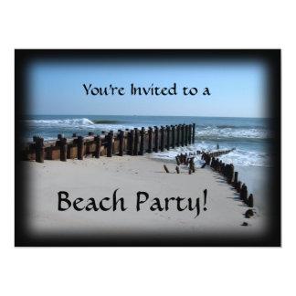 Rustic Bulkhead on Beach Announcements