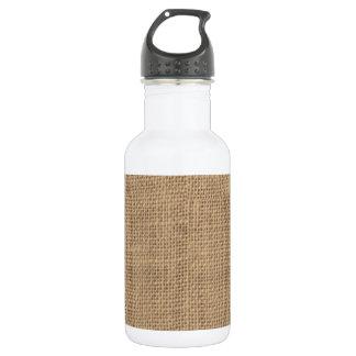 Rustic Burlap Design 532 Ml Water Bottle
