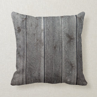 Rustic Cabin Decor Barn Board Wood Pillow