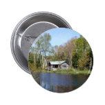 Rustic Cabin Water Scene Pins