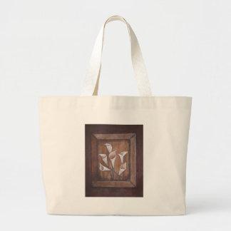Rustic Calla Lillies Tote Bag