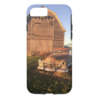 Rustic car Cadillac Old barn real photo iPhone 7 iPhone 7 Case