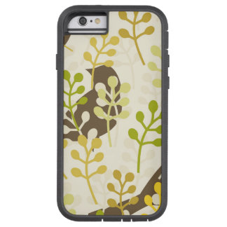 Rustic chic sparrow swallow bird shabby pattern tough xtreme iPhone 6 case
