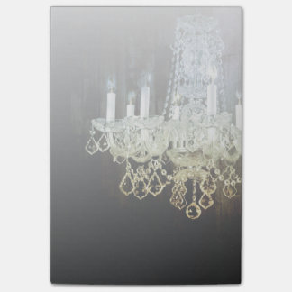 Rustic Chic Western country Barn Wood chandelier Post-it® Notes
