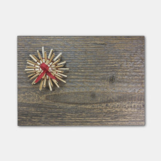 Rustic Christmas Post-it Notes