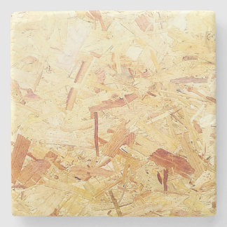 Rustic Coasters Wood Chippings Marble Stone