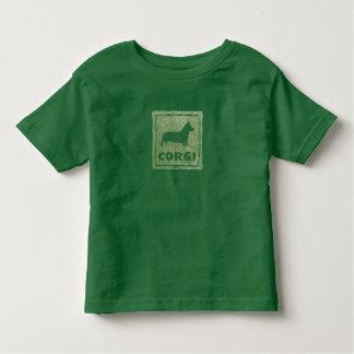 Rustic Corgi Toddler T-Shirt