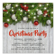 Rustic Corporate Winter Christmas Party