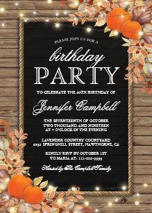 pumpkin birthday invitations zazzle uk