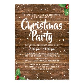 Company Christmas Party Invitations Announcements Zazzle Co Uk