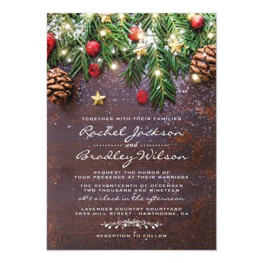 winter wedding invitations  u0026 announcements