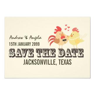 Rustic Country Farm Wedding Save the Date 13 Cm X 18 Cm Invitation Card