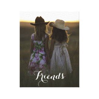Rustic Country Friends Canvas Print