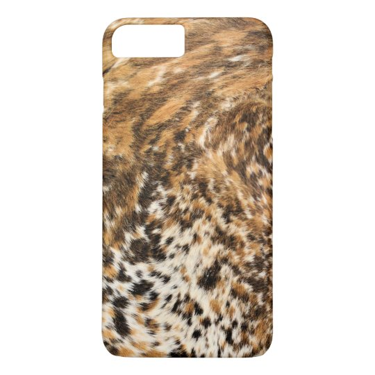 Rustic Country Western Long Horn Leather Pattern iPhone 7 Plus Case