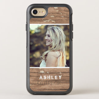 Rustic Country Wood Grain Style Picture OtterBox Symmetry iPhone 8/7 Case