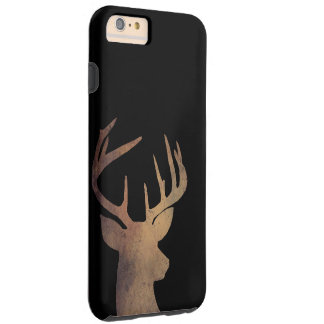 Rustic Deer Head Cell Phone Case