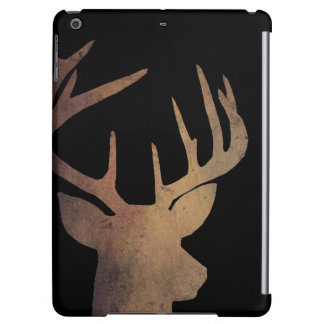 Rustic Deer Head Ipad Air Case