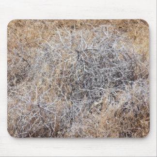 Rustic Dry Tumbleweed Mouse Mat