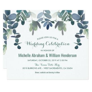 Rustic Eucalyptus Wedding Suite Invite | Gum Tree