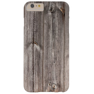 Rustic Faux Wood Texture Barely There iPhone 6 Plus Case